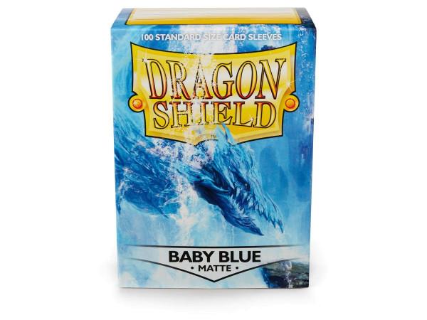 Dragon Shield: Matte Baby Blue (100)