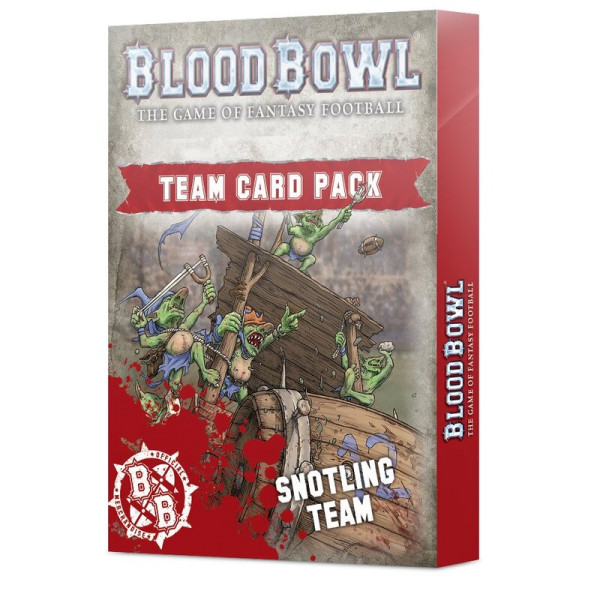 BLOOD BOWL: SNOTLING TEAM CARD PACK (200-89)