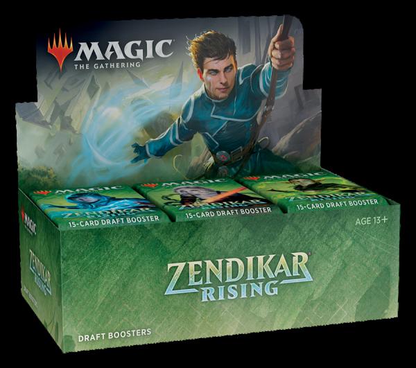 Zendikar Rising - Draft Booster Display (ENG)