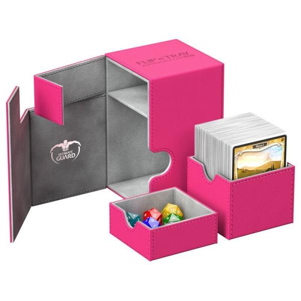 Flip´n´Tray Deck Case 100+ Standard Size XenoSkin™ Pink
