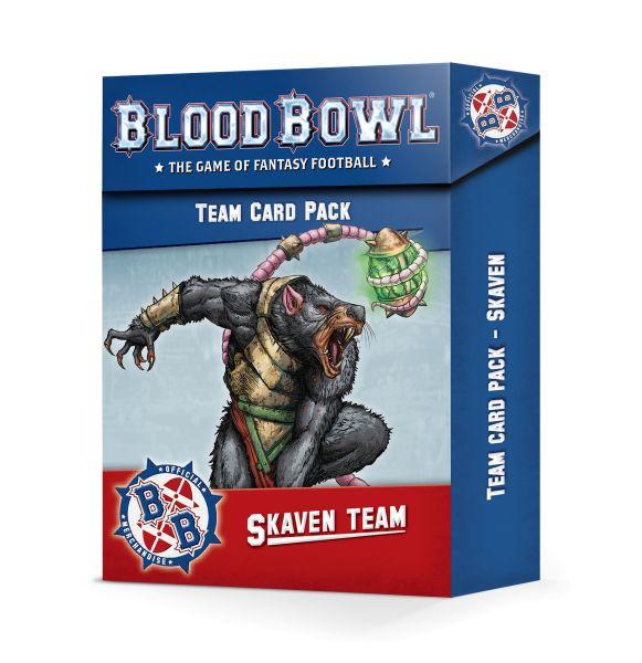 BLOOD BOWL: SKAVEN TEAM CARD PACK (200-41)