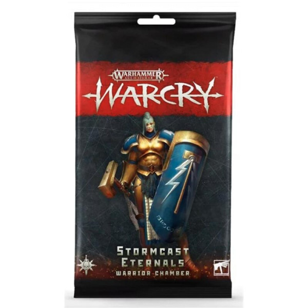 WARCRY: STORMCAST WARRIOR CHAMBER CARDS (111-49)