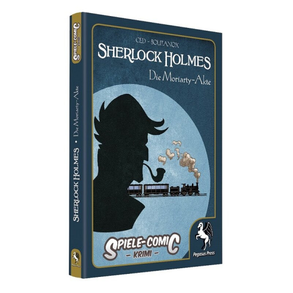 Spiele-Comic Krimi: Sherlock Holmes - Die Moriarty-Akte (Hardcover)