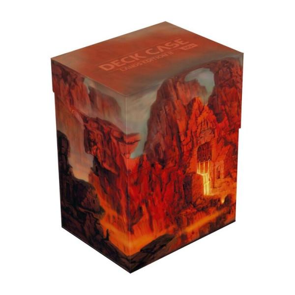 Deck Case 80+ Standard Size Lands Edition II Mountain