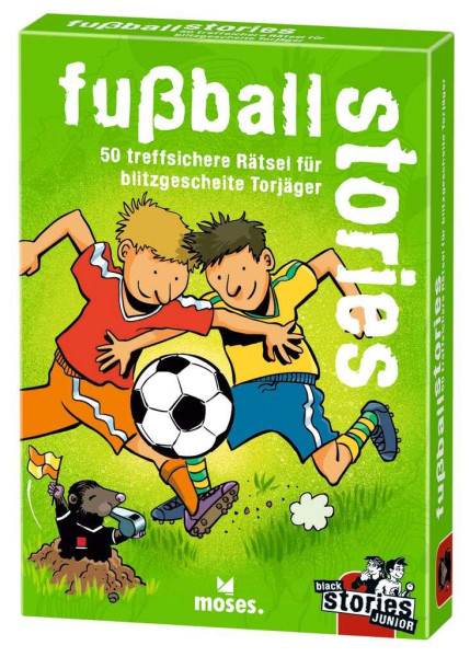 black stories Junior fussball stories