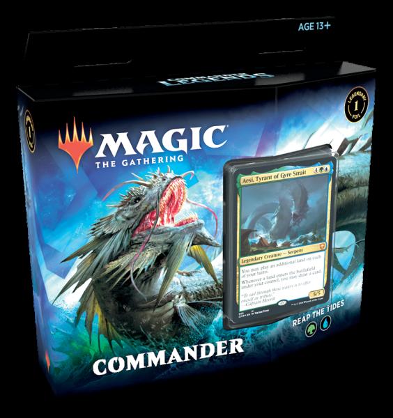 Commander Legends - Commander-Deck: Reap the Tides (ENG)
