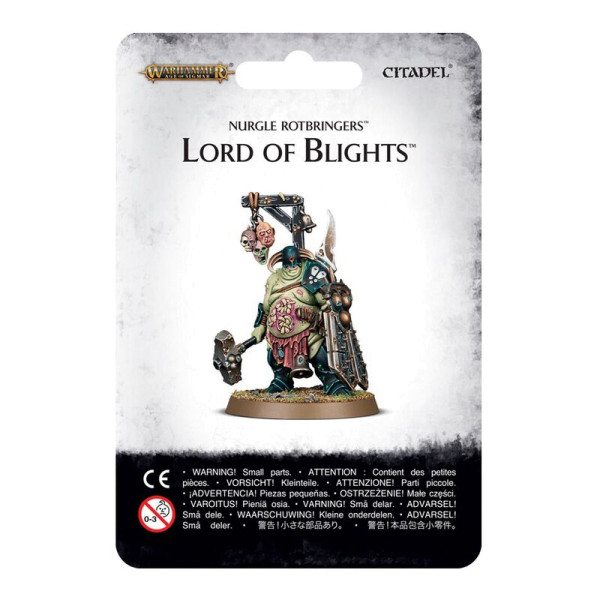 NURGLE ROTBRINGERS LORD OF BLIGHTS (83-49)