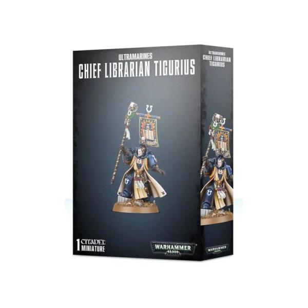 ULTRAMARINES CHIEF LIBRARIAN TIGURIUS (48-100)