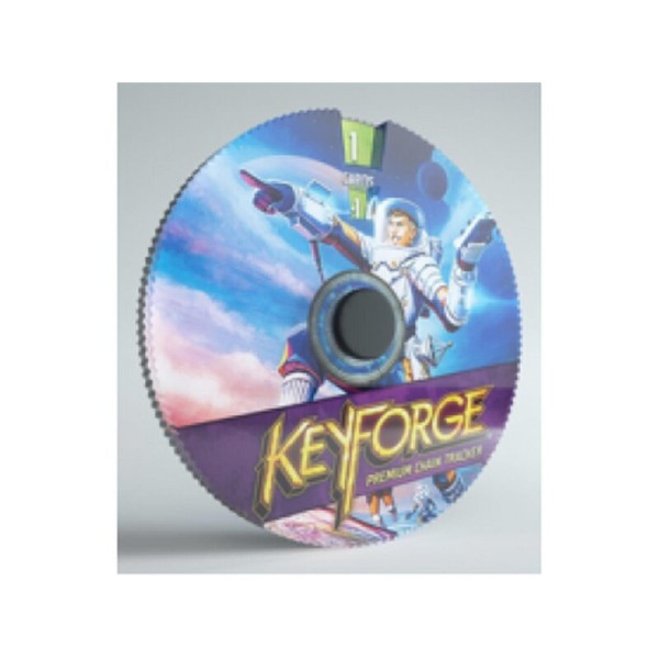 Gamegenic KeyForge Premium Chain Tracker - Star Alliance