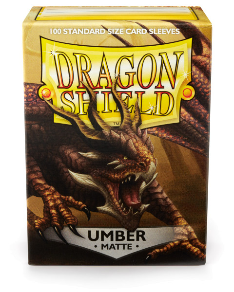 Dragon Shield: Matte Umber (100)