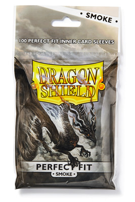 Dragon Shield: Perfect Fit Inner Sleeves Smoke/Clear(100)