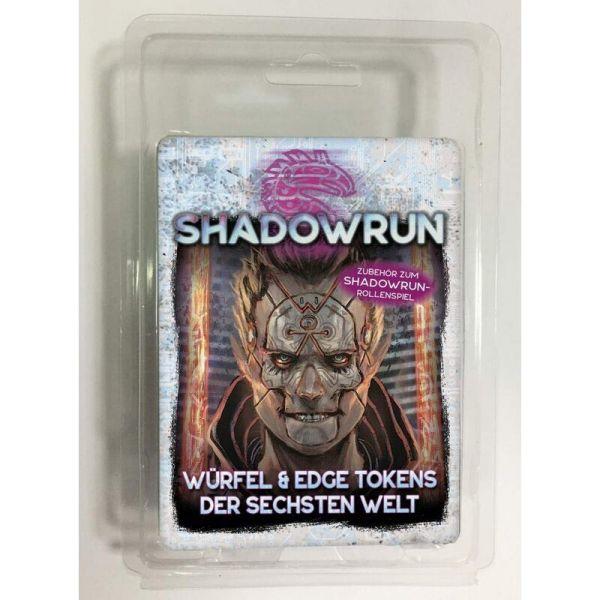 Shadowrun 6: Würfel & Edge Tokens der Sechsten Welt