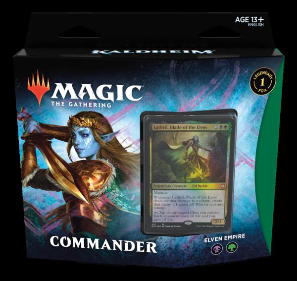 Kaldheim - Commander Deck - Elven Empire (ENG)