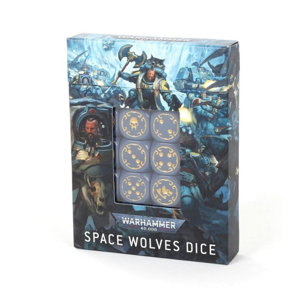 SPACE WOLVES DICE SET (53-27)