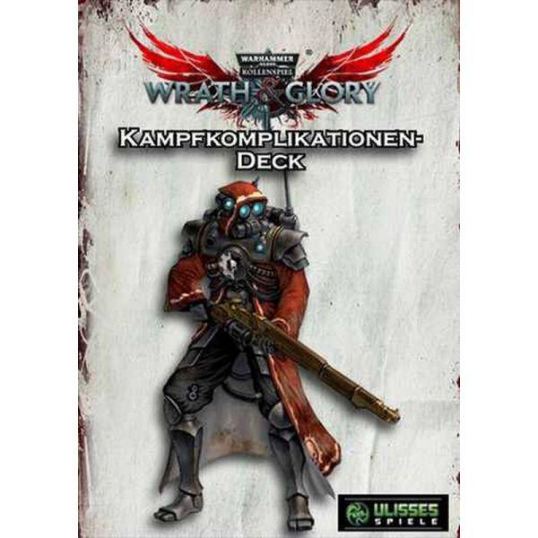 WH40K Wrath & Glory - Kampfkomplikationen Kartendeck
