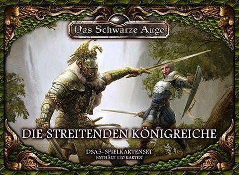 DSA5 Spielkartenset Die Streitenden Königreiche 2. Auflage