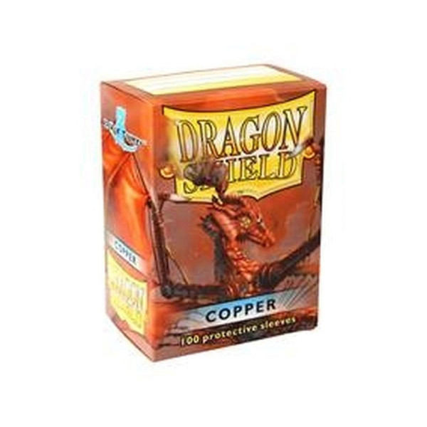 Dragon Shield: Matte Copper (100)