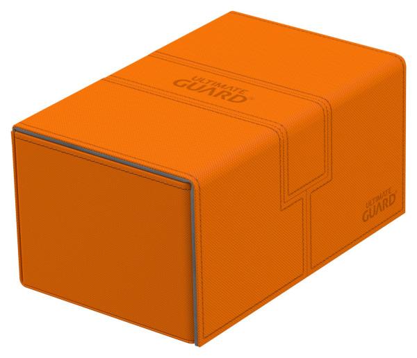 Twin Flip´n´Tray Deck Case 160+ Standard Size XenoSkin™ Orange