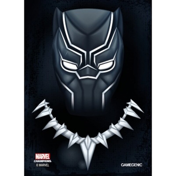 Gamegenic - Marvel Champions Art Sleeves - Black Panther (50+1 Sleeves)