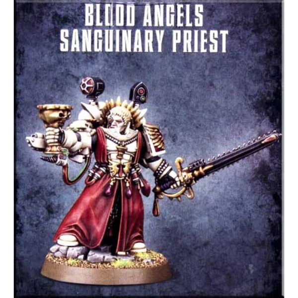 BLOOD ANGELS SANGUINARY PRIEST (41-14)