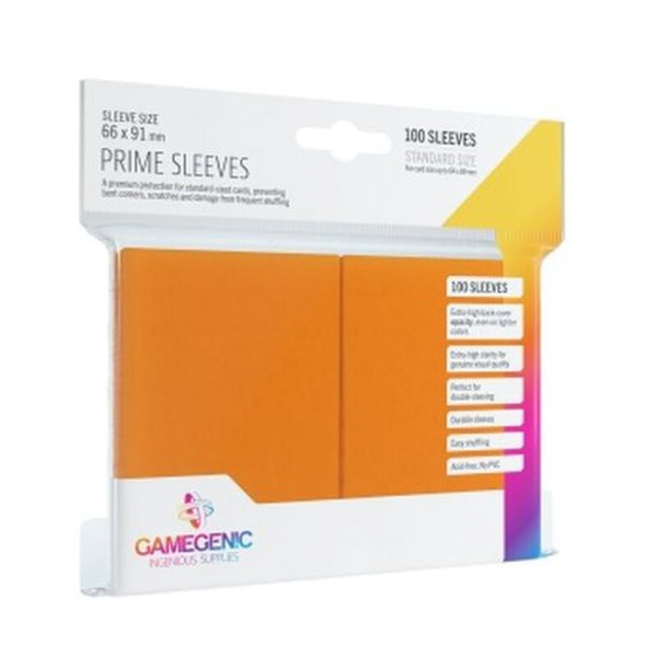 Gamegenic - Prime Sleeves Orange (100 Sleeves)