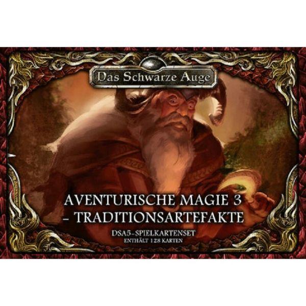 DSA5 Spielkartenset Aventurische Magie 3-Traditionsartefakte