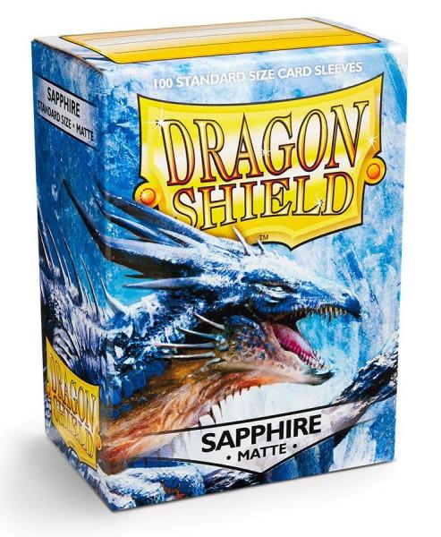 Dragon Shield: Matte Sapphire (100)