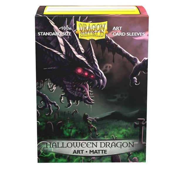 Dragon Shield: ART Sleeves Matte Classic Halloween 2020(100)