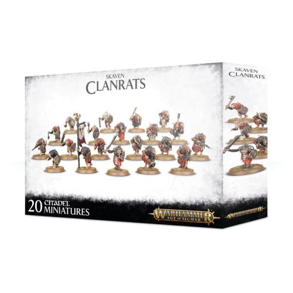 SKAVEN CLANRATS (90-06)
