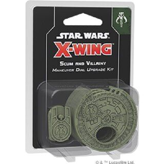 Star Wars X-Wing - Scum and Villainy Maneuver Dial Upgrade Kit