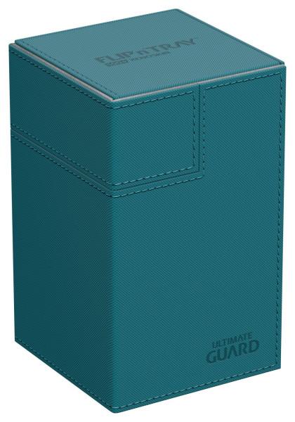 Flip´n´Tray Deck Case 100+ Standard Size XenoSkin™ Petrol