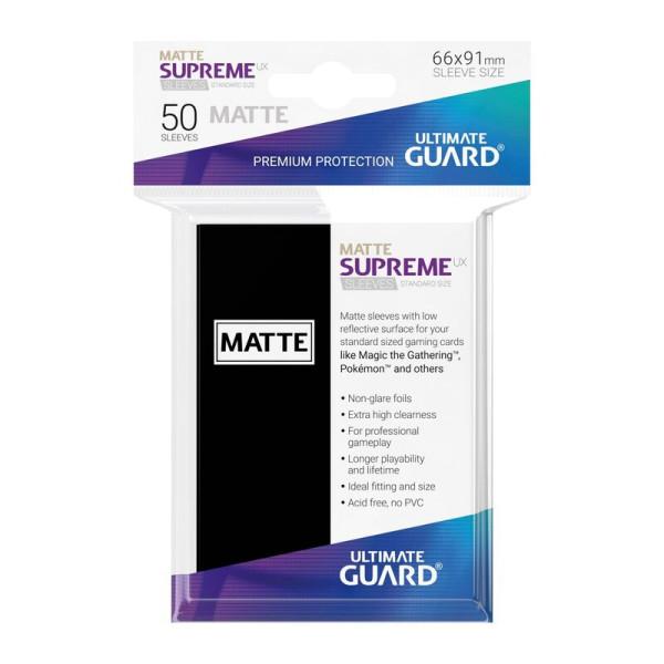 Supreme UX Sleeves Standardgröße Matt Schwarz (50)