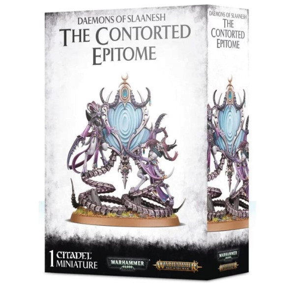 DAEMONS/SLAANESH: THE CONTORTED EPITOME (97-48)