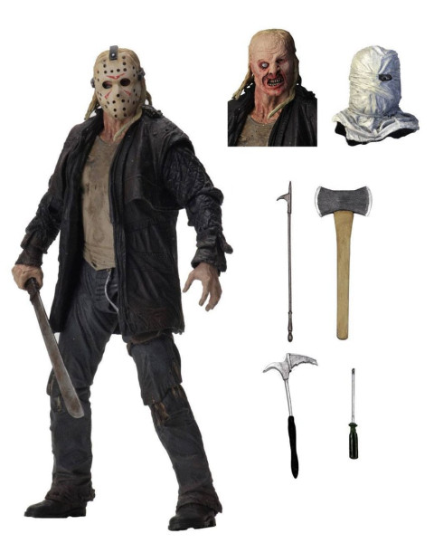 Ultimate Jason (2009) 7 Inch Action Figur