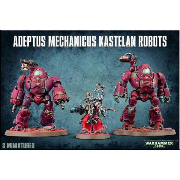 ADEPTUS MECHANICUS KASTELAN ROBOTS (59-16)