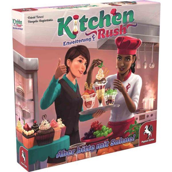 Kitchen Rush: Aber bitte mit Sahne