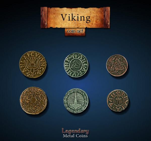 Viking Coin Set (24 Stück)