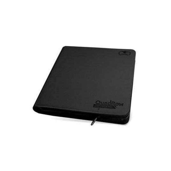 12-Pocket QuadRow ZipFolio XenoSkin™ Black