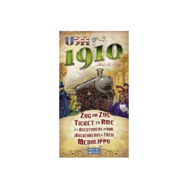 Zug um Zug - USA 1910