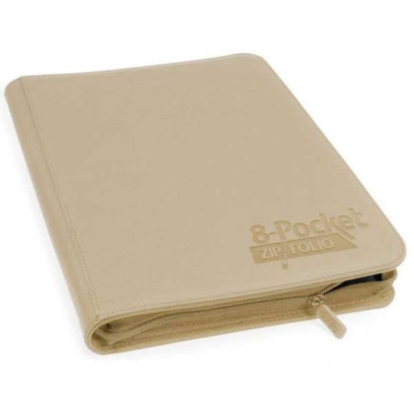 8-Pocket ZipFolio XenoSkin™ Sand