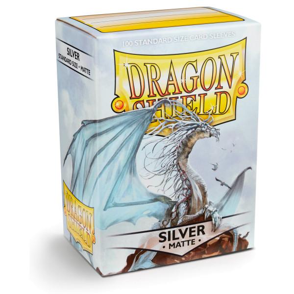 Dragon Shield: Matte Silver (100)
