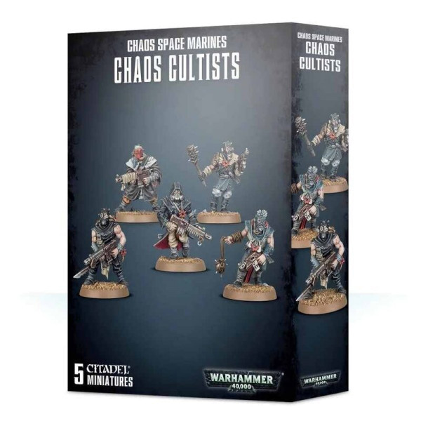 ETB: CHAOS SPACE MARINES CHAOS CULTISTS (35-34)
