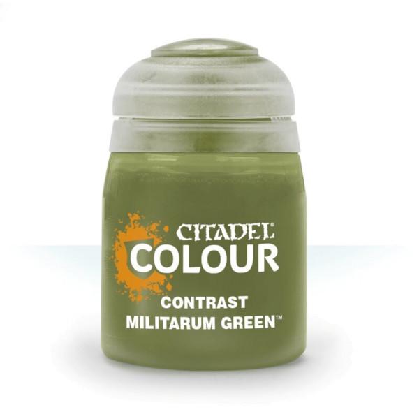 CONTRAST: MILITARUM GREEN (18ML) (29-24)
