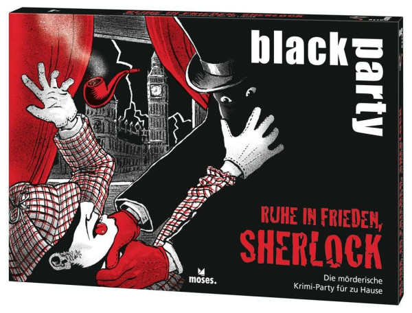 black party Ruhe in Frieden, Sherlock