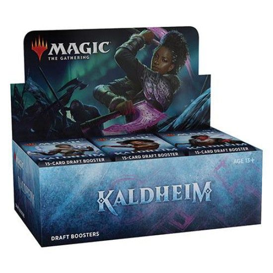Kaldheim - Draft Booster Display (ENG) + Prerelease Promo Karte*