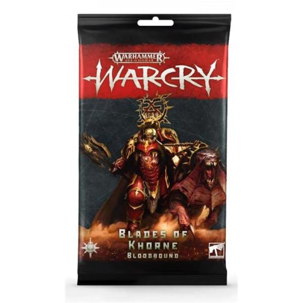 WARCRY: BLADES OF KHORNE CARDS (111-54)