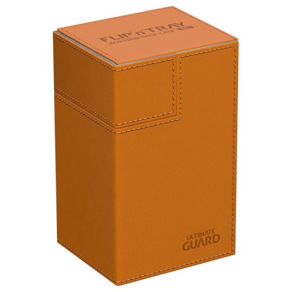 Flip´n´Tray Deck Case 80+ Standard Size XenoSkin™ Orange