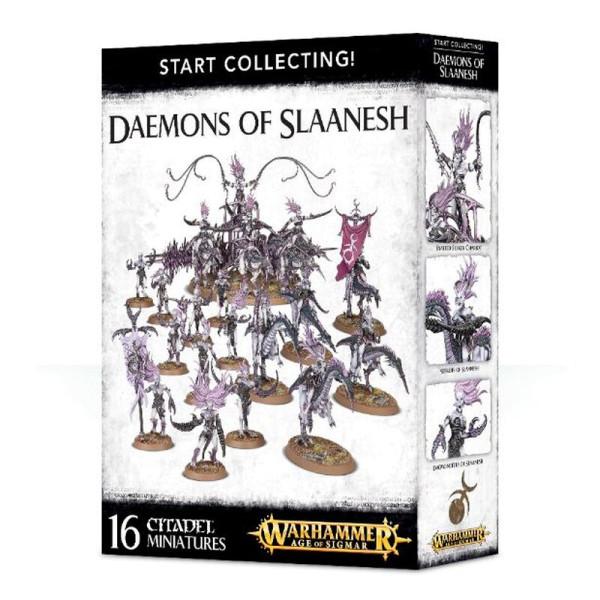 START COLLECTING! DAEMONS OF SLAANESH (70-73)