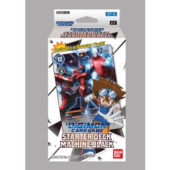BANDAI Digimon Card Game: Starter Deck Machine Black (ENG) 208