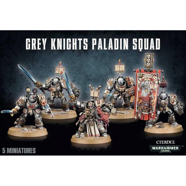 GREY KNIGHTS PALADIN SQUAD (57-09)